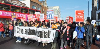 The NHS has now been going for over 60 years and nurses are determined that it will continue to flourish