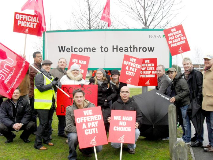 In March 2010 BA cabin crew were forced to take strike action by Walsh who was the BA Chief Executive. He wanted to destroy the Union.He is doing the same at Iberia in Spain