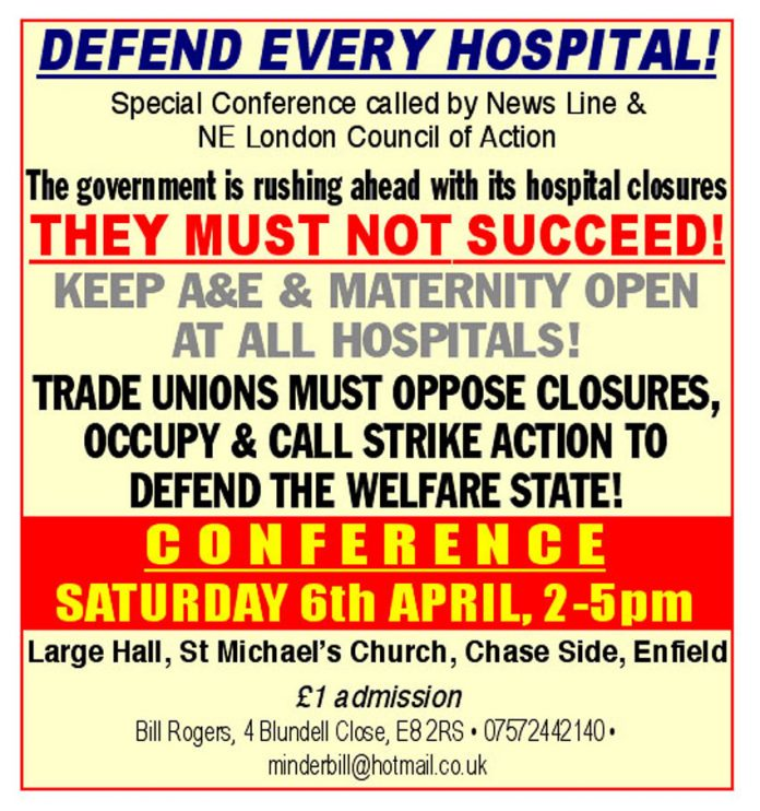 Defend Every Hospital Conference