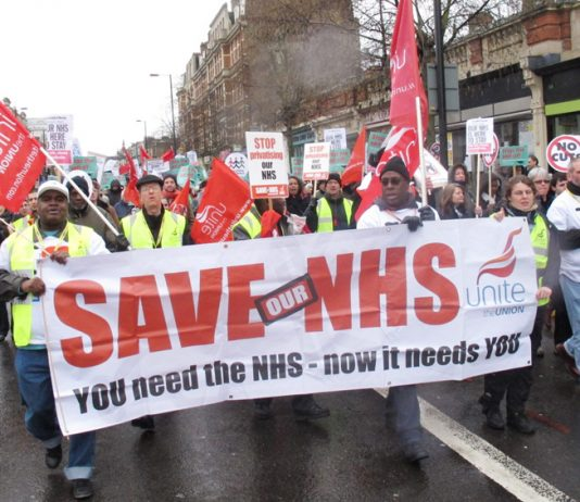 Unite banner with a clear message
