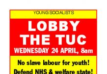 Lobby The Tuc – Today!