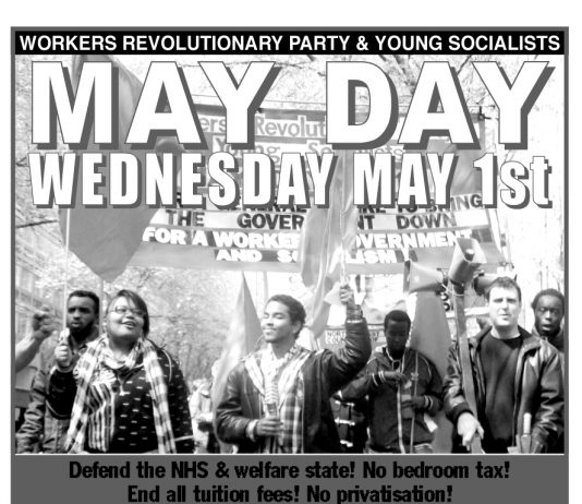 May Day March And Rally