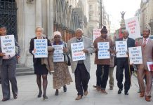 In April 2012 Kenyans took their case to the High Court demanding compensation for the massive slaughter of up to 90,000 Kenyans by the British colonial  administration in the 1950s and 60s