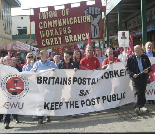 Postal workers fighting against privatisation under the Blair/Brown government, so far there has been no battle against the Tory-led Coalition