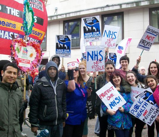 There is massive support for a National Health Service that is free to everybody at the point of need – having a privateer in charge of NHS England will anger millions of workers
