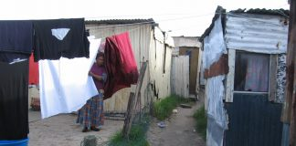 Kylelitsha Township – South African working class living in poverty. Nothing has changed since Apartheid was ended says NUMSA