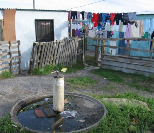 Living conditions for millions of South African workers