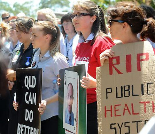 Queensland Nurses Union fighting against job and funding cuts