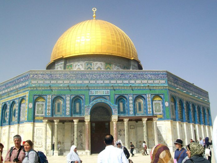 The Al-Aqsa Mosque in Jerusalem