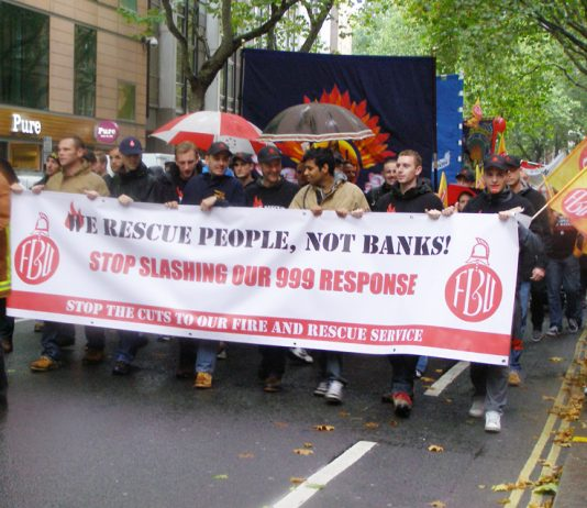 FBU – fighting a massive attack on firefighter pensions
