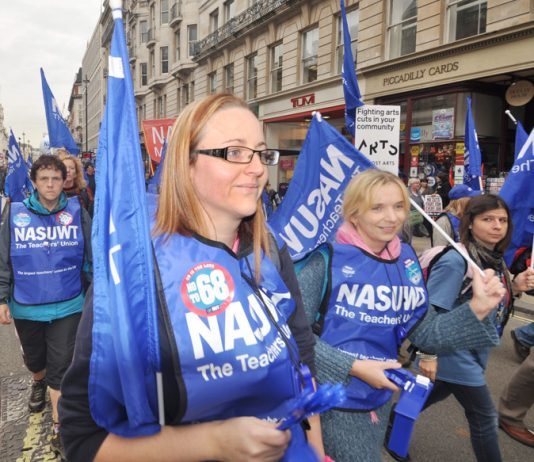 NASUWT members say 'No to 68' for retirement age