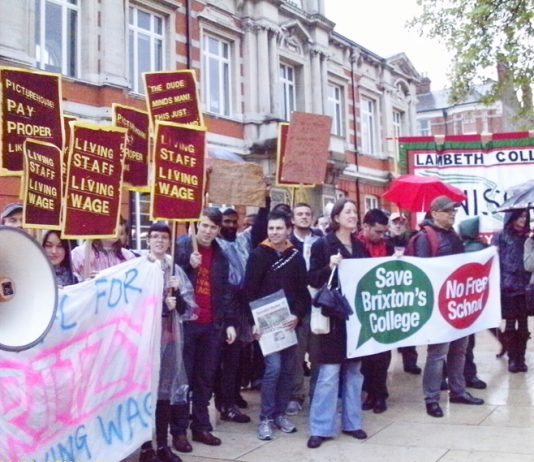 Workers at the Ritzy, Brixton are fighting for the Living Wage in the face of a rapidly rising cost of living. They are taking strike action again today