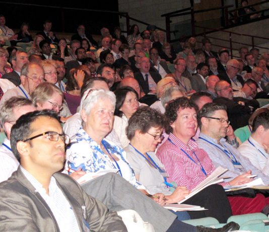 A section of the audience at the BMA Conference of Local Medical Committees
