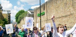 The march to stop GP surgeries closing proceeds through east London
