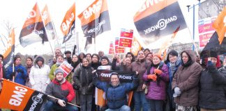 Ealing Hospital workers employed by contractors Medirest have taken a number of strike actions against low pay