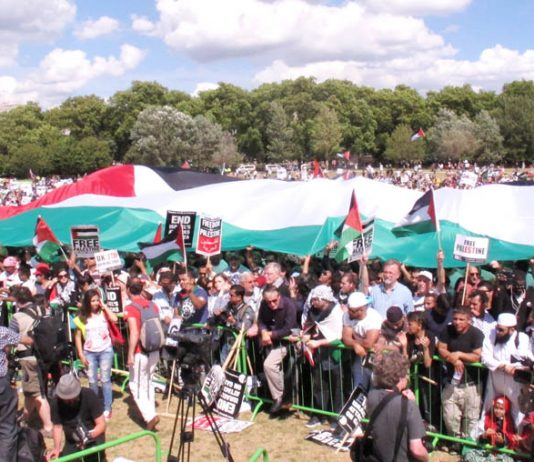 'The resistance of Gaza impressed the world' – over 200,000 marched in London on August 9th in support of Palestine