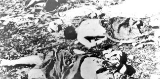 After the Deir Yassin massacre Palestinians were forced to flee into exile