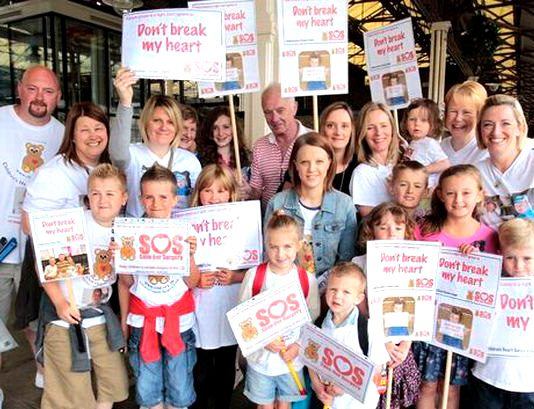 Leeds heart unit campaigners are determined that their children's heart unit should remain open