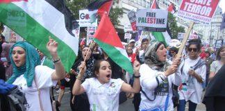 Demonstration in London against Israel's 51-day war on Gaza