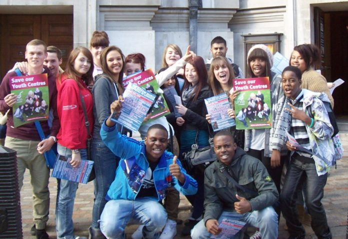 Birmingham youth defending youth centres – they are under attack nationally