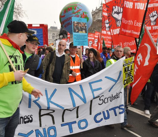 RMT organises oil workers and insists that it is going to fight the big job cuts that they are facing in the North Sea