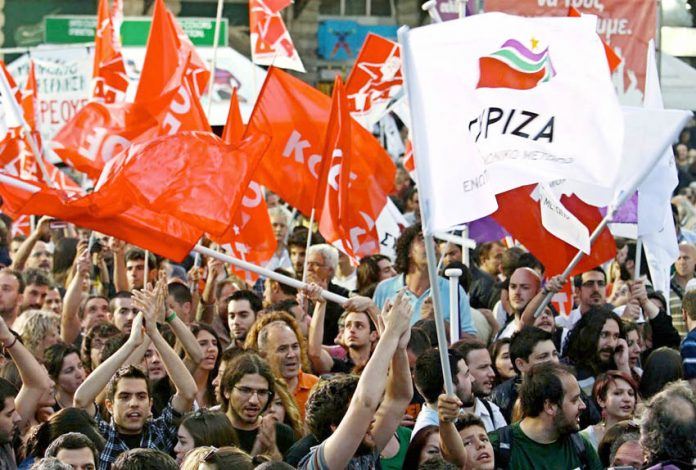 Crowds in Athens celebrate Syriza's victory – Germany is demanding every euro of the Greek debt is repaid