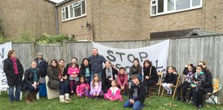 'This is a beautiful, peaceful estate which has been ripped apart to build luxury houses'  – evicted families get back together with families awaiting eviction ahead of the Sweets Way community fun day on Sunday