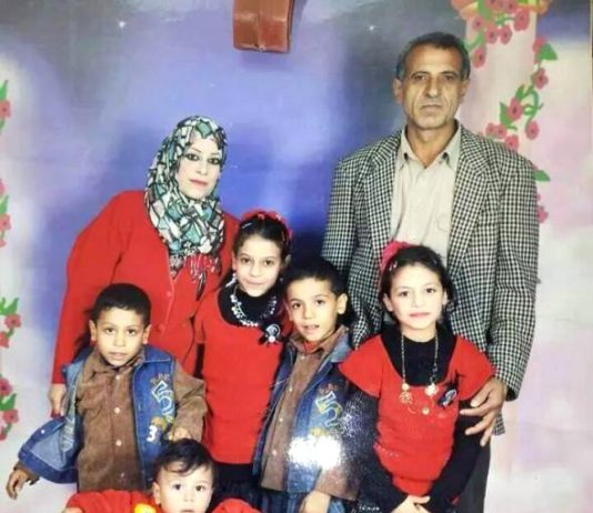 The Al-Kilany family – an entire family killed in an Israeli F16 attack on northern Gaza
