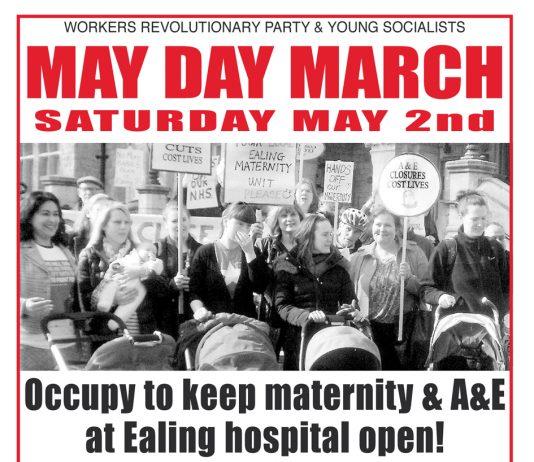 Next Saturday May 2 – May Day March