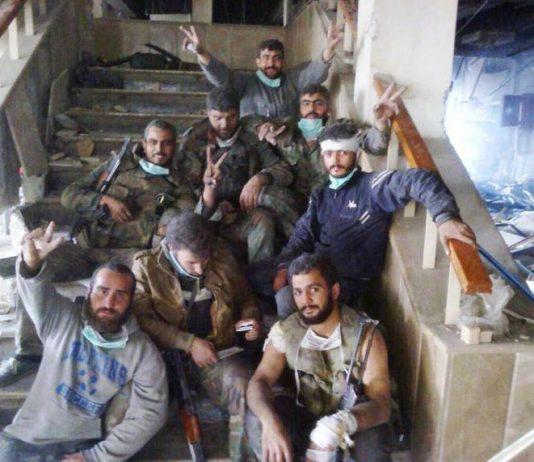 Syrian troops besieged in the hospital at Jisr al-Shugour