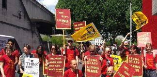 Striking Ritzy Cinema workers fighting for a living wage