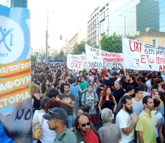 Greek workers remain absolutely defiant while the Syriza leadership is desperate to achieve a non-existent compromise with the EU