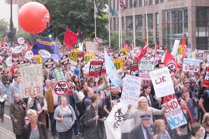 Massive anti-austerity march on June 20 – supported by many trade unions