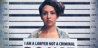 Campaign poster demanding the release of Egyptian lawyer Yara Sallam