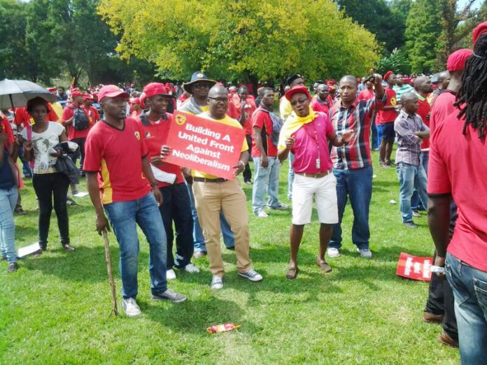 NUMSA youth rally for their future