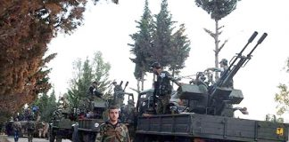 Syrian army ready to fight the terrorists in Dara'a