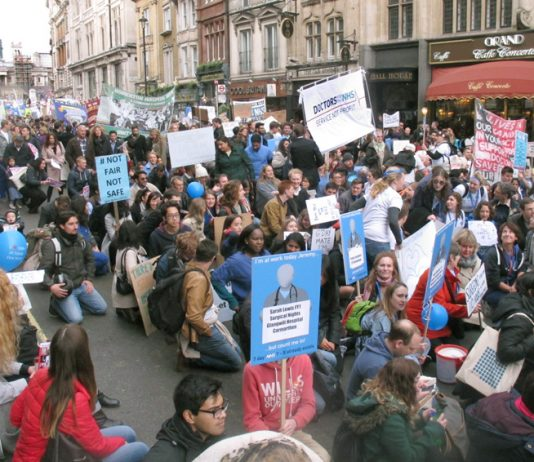 Junior doctors remain angry at Hunt's attempts to dictate to them – they will be taking strike action over three days