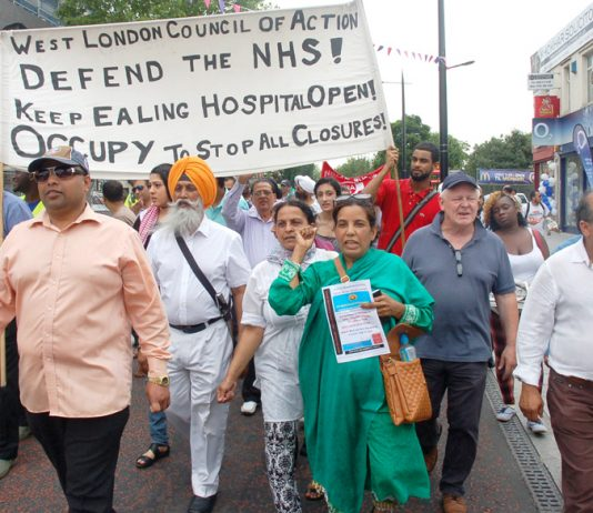 March through Southall on July 1st to defend Ealing Hospital – a report by Michael Mansfield QC says that the downgrading of hospitals in North West London must be stopped