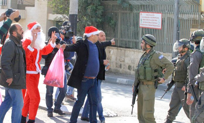 Christmas under the Israeli occupation in Bethlehem