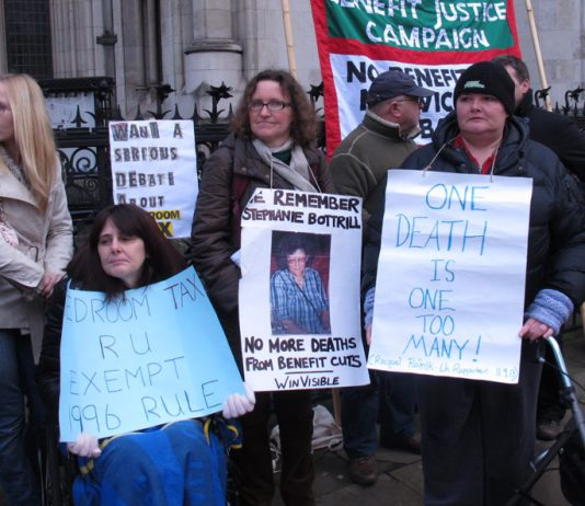 The long campaign by thousands of working people who have been oppressed by the Bedroom Tax and benefit cuts won a big victory yesterday in the Court of Appeal
