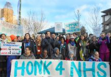 Junior doctors on the picket line – they are now preparing to come out on strike again