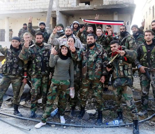 Syrian troops – close to retaking the ancient city of Palmyra