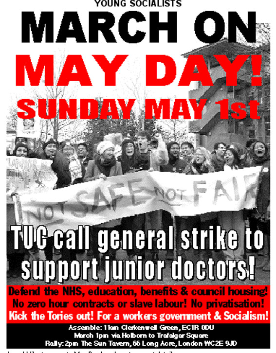 May Day march!