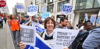 Students battling to defend NHS bursaries – Cameron has just pledged even more savage cuts if workers vote to leave the EU