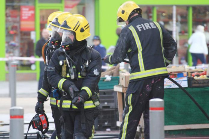 Firefighters at work – West Midlands FBU warn that the loss of 300 jobs will cost lives