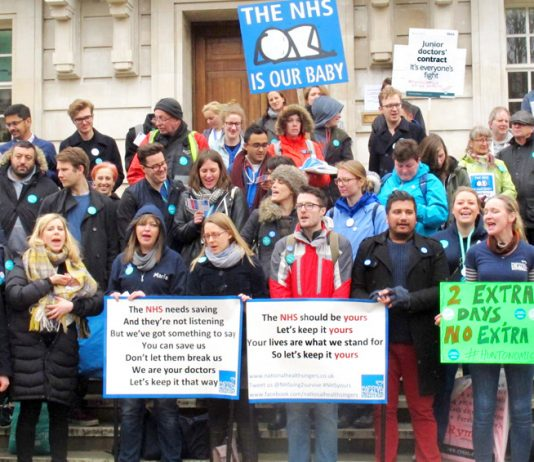 Junior Doctors to continue defending NHS