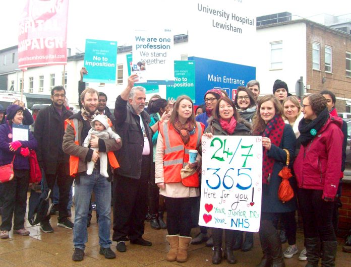 Junior doctors are demanding further action to defeat Hunt's contract imposition