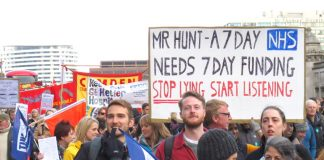 Junior doctors are putting the case that Hunt is assuming dictatorial powers to which he has no right and which are illegal