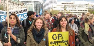 Junior doctors and supporters on the march – their struggle against an imposed contract is not over