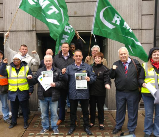 Pickets were solid on day 2 of the 3-day Southern rail strike, after which 11 more days are planned